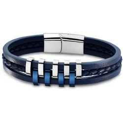 Bracelet Lotus Style Bijoux URBAN MAN - Bracelet URBAN MAN Acier - LS1838-2-2 - Modalova