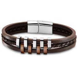 Bracelet Lotus Style Bijoux URBAN MAN - Bracelet URBAN MAN Acier - LS1838-2-3 - Modalova