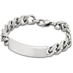 Bracelet Men In Black - Bracelet Acier Gourmette - LS1554-2-1 - Modalova