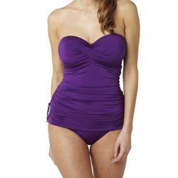 Promo : Tankini Bandeau Violet - Panache maillots - Modalova