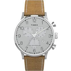 Montre Timex - cuir marron - TW2T71200 - Modalova