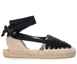 Sandale espadrilles Jean en coton ivoire - Castañer - Modalova