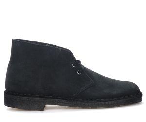 Bottines Desert Boots en daim bleu marine - CLARKS ORIGINALS - Modalova