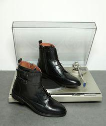 Boots rangers en cuir clouté holy - 123 - Modalova