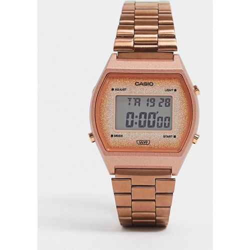 Montre-bracelet digitale - Or rose - Casio - Modalova