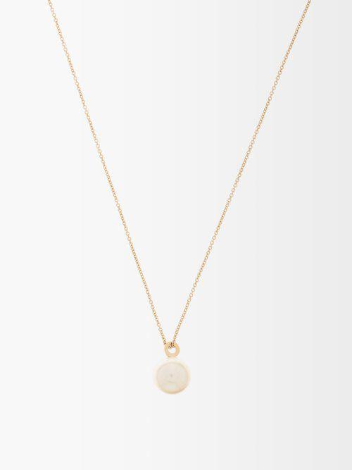 Collier en or et perle Akoya Perle Simple - Sophie Bille Brahe - Modalova