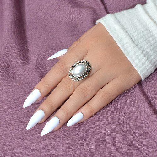 Bague à perle - SHEIN - Modalova
