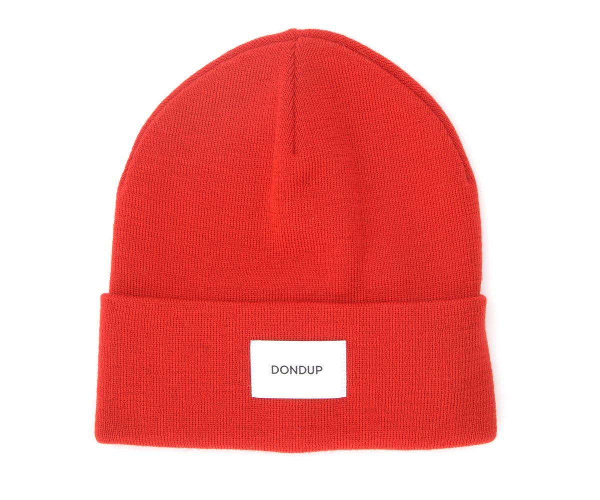 Bonnet en laine rouge mélangée - Dondup - Modalova